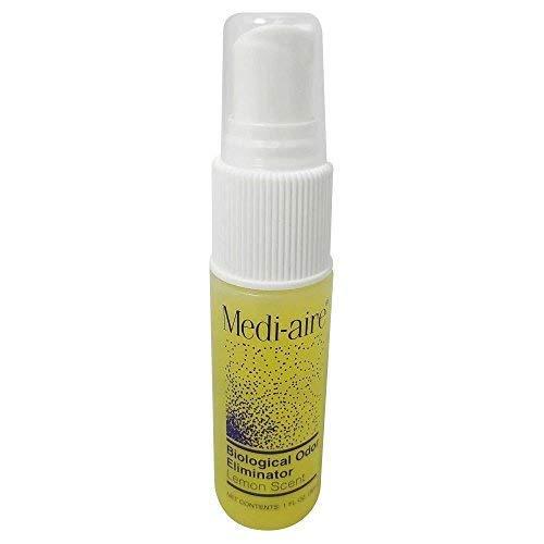 Bard Home Health Div Medi-Aire Biological Odor Eliminator 1 Ounce Spray Bottle, Lemon Scented