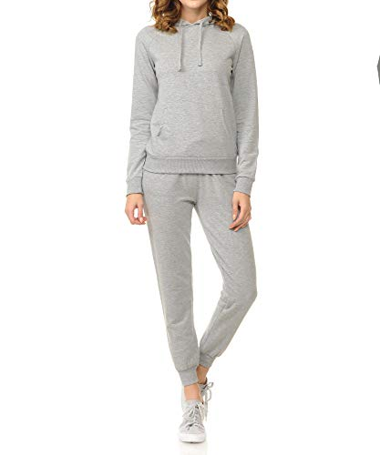 French Terry Hoodie and Jogger Pants Sweatsuit Set ()