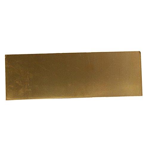 ChenXi Shop 1 pieza 2 mm x 150 mm x 150 mm resistente a la corrosi/ón H62 placa de lat/ón de la industria DIY Experimento hoja