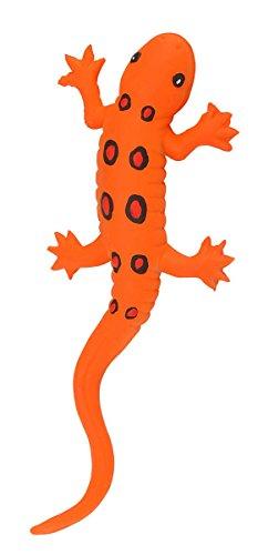 Wild Republic 20cm Rubber Orange Salamander (Rubber Lizard Toy)