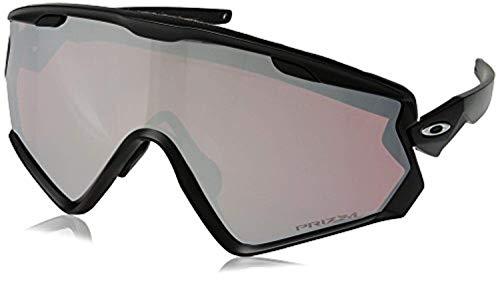 Oakley Wind Jacket 2.0 Snow Goggles Matte Black/Prizm Snow Black &Carekit
