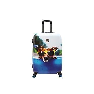 Saxoline Blue Happy Dog Maleta a 4 ruedas 67 cm happy dog