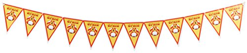 Beistle Pennant Banner, 11-Inch by 7-Feet 4-Inch, Spain by Beistle