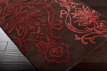 Candice Olson Chocolate 3 ft. 3in. x 5 ft. 3in. Area Rug