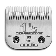 Cuchillas : Andis 1 1/2 63015 Ceramic Edge Reemplazo