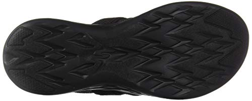 Nero black Skechers Con go black Cinturino Alla Caviglia Bbk 600 On Donna the Sandali flawless YTTrBc7g