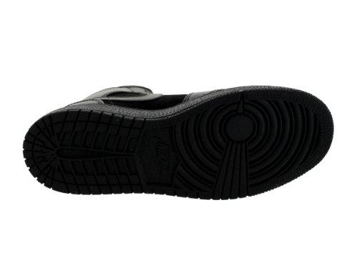 Nike Air Jordan 1 Mid BG Black Black Kids Trainers