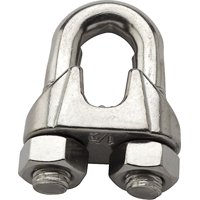 Stanley National S850-883 Wire Cable Clamp, 1/2'', Stainless Steel