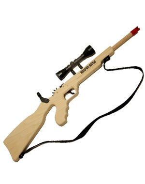 Sniper Rubberband Rifle w/ Scope