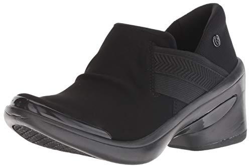 BZees Women's Enhance Ankle Boot, Black Microfiber, 10 M US (Sets Fine Bedroom)