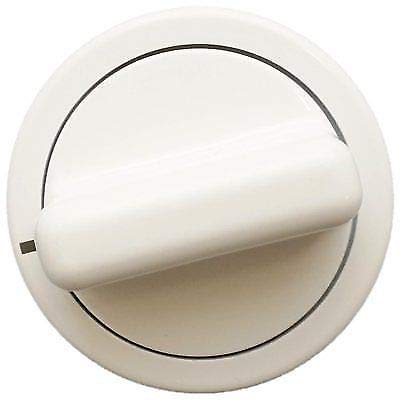 (WE01X10160 for GE Dryer Timer Control Knob White AP3207448 PS755794)