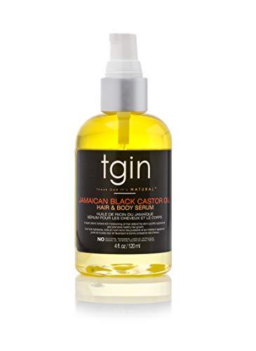 tgin Argan Replenishing and Hair Body Serum for Natural Hair, 4oz