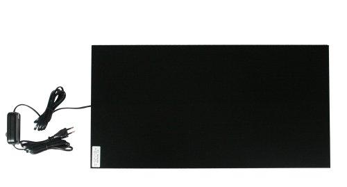 Thermo 3148044 Infrarot-Wärmeplatte 300 x 600 mm, 230 V, 150 W, 80 Grad Sicherheitsthermostat
