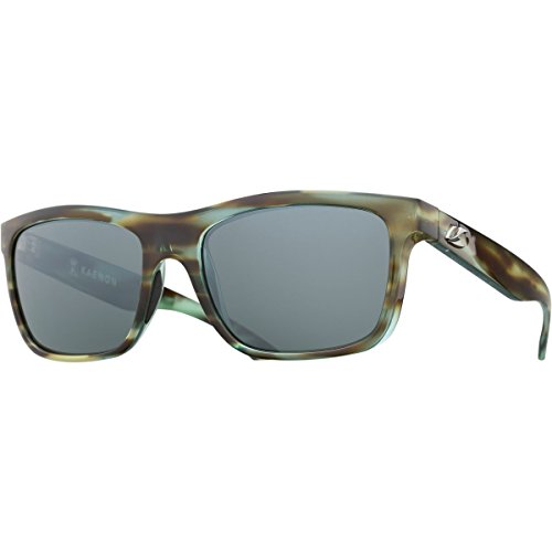 Kaenon Mens Clarke Polarized Sunglasses, Abalone/Grey 12 Black - In Usa Sunglass Made