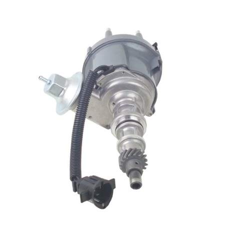 (A-Team Performance 6 Cylinder Distributor Compatible with Ford 3004.9 1974-1985 F100 F150 F250 F100 F350 E100 E150 Silver)