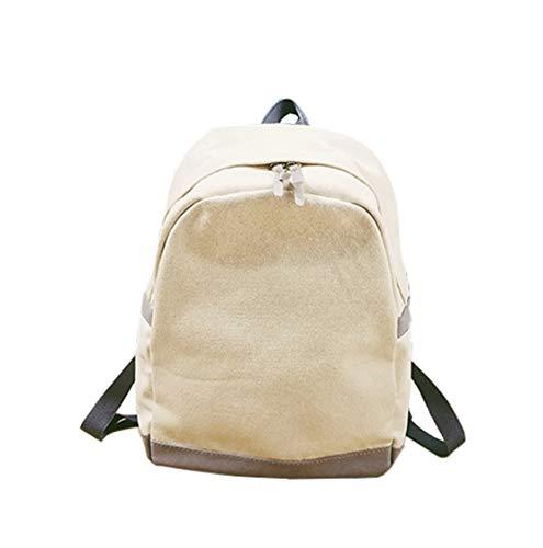 Mujer Escolares Mochila Diario Laptop Mochilas Bolsos Escolar Fashion Color Simple Gran Sólido Universitarias Azul1 Moodn Lona Capacidad Juveniles Viajes Ixq8Tn1wC