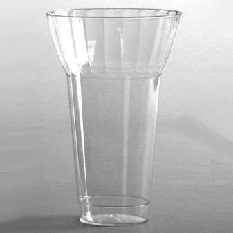 Anchor Hocking Ice Cream - Plastic Parfait Glasses Crystal Cut 12 oz 20 per Pack