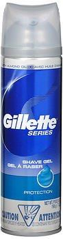 Gillette Series Shaving Gel Protection - 7 oz, Pack of 3