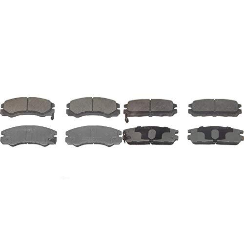 - AutoDN Front and Rear 8 PCS Ceramic Disc Brake Pad Set Kit For HONDA PASSPORT 1997