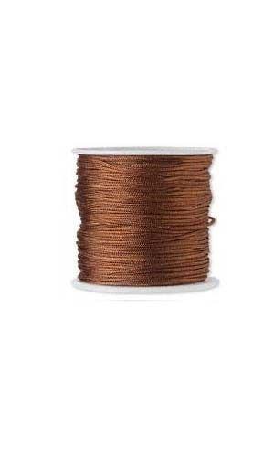 100 Feet Imitation Silk Beading Cord Macrame Jewelry Craft Beads Cording 1mm (LIGHT ()