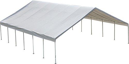 ShelterLogic UltraMax Big Country Canopy, White, 30 x 50 ft. - 30 White Finish Canopies
