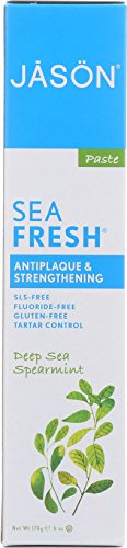 Price comparison product image Jason Sea Fresh Antiplaque & Strengthening Toothpaste, Deep Sea Spearmint 6 oz
