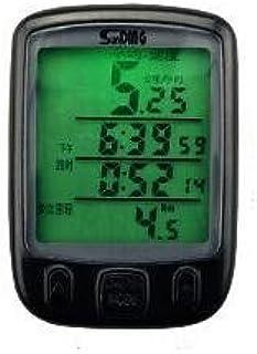&QQ Bike Computer, originale senza fili della bicicletta del tachimetro, contachilometri bici bicicletta Multi Function 563C