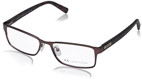 Armani Exchange AX 1003 Men's Eyeglasses Satin Brown - Exchange Armani Giorgio