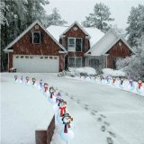 Snowman pathway markers - set of 20 not lights