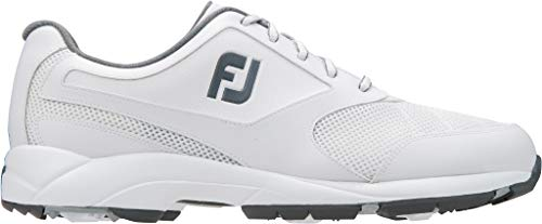 FootJoy Athletics Spikeless Golf Shoes White 14 - Footjoy Golf Shoes Classics
