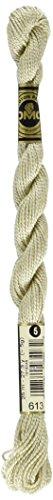 - DMC 115 5-613 Pearl Cotton Thread, Very Light Drab Brown, Size 5