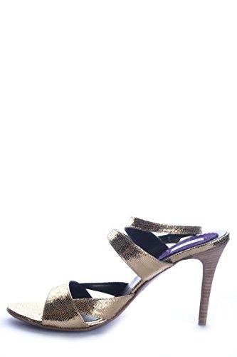 Sandales Fibres Or Synthétiques Pinko Femme MCBI242143O Pq4vx1X
