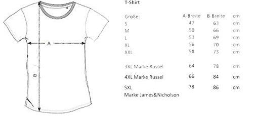 Wolkenbruch® T-Shirt Rock`n`Roll London 72, Union Jack, Gr.S bis 5XL
