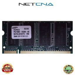 10K0030 256MB IBM Compatible Memory Thinkpad A31/R40 PC2100 SODIMM 100% Compatible memory by NETCNA - Sodimm Memory A31
