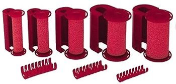 Caruso Steam Rollers * 14-pack * Contains: 2-petite, 3-small, 4-medium, 3-large, 2-jumbo Rollers