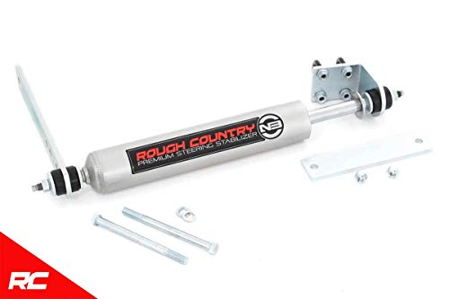 Rough Country N3 Steering Stabilizer (fits) 1997-2003 F150 (F-150) 2WD 8734830 N3 Steering Damper 2WD