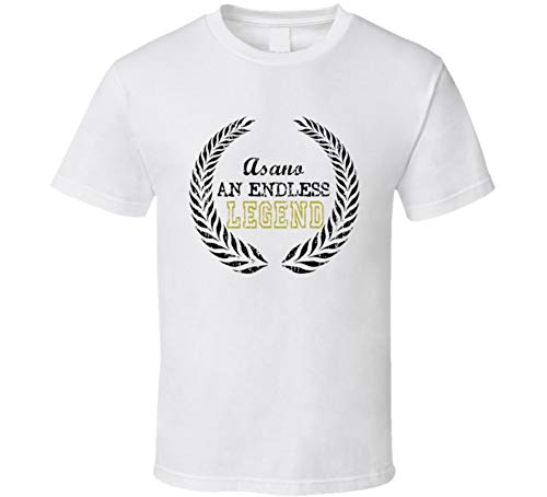 - Asano an Endless Legend Trending Last Name T Shirt XL White