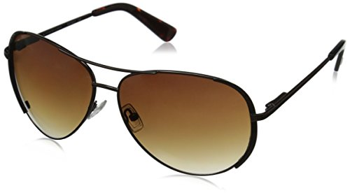 Oscar by Oscar De La Renta Women's SSC4032 Aviator Sunglasses, Brown, 60 - De Renta Oscar Sunglasses