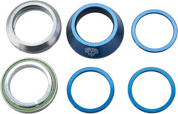 Odyssey Integrated BMX Headset Ody Int Mx 1-1//8 Bk W//conical Spacer