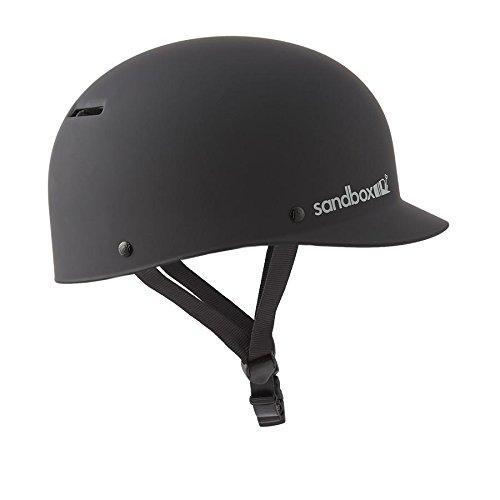 SANDBOX Classic 2.0 Low Rider Helmet, Black, Medium - Classic Mens Snowboard Helmet