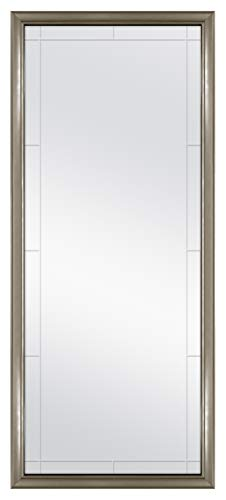 MCS 66981 Georgian Revival Grooved Leaner Mirror, 30 x 70 Inch, ()