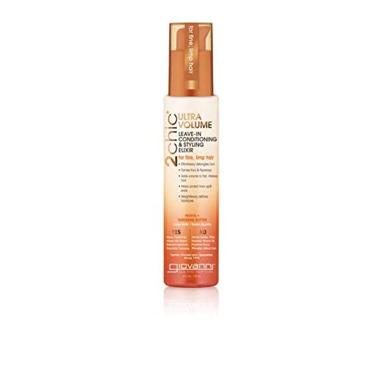 Giovanni 2Chic® Ultra-Volume Leave-in Conditioning Elixir, 118ml