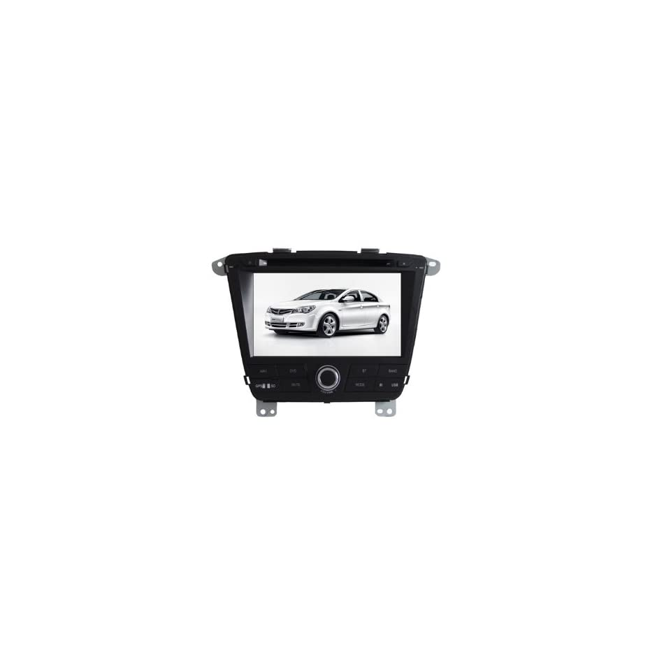 Eagle for ROEWE ROEWE 350 Car GPS Navigation DVD Player Audio Video System with Radio (AM/FM),Bluetooth Hands Free,USB, AUX Input,(free Map),Plug & Play Installation