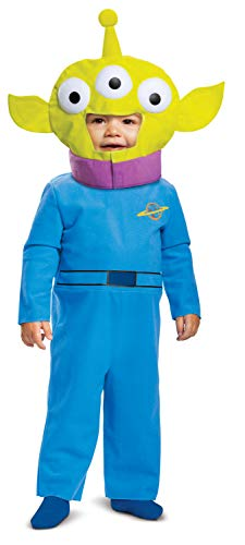 Toy Story Alien Classic Infant Costume, Blue/Green