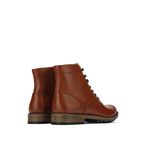 Onoterade, En Kenneth Cole Produktion Spets-up High-top Boot - Mens - Brun