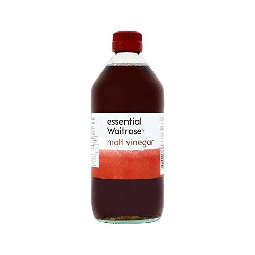 Malt Vinegar essential Waitrose 568ml - Pack of 4 by WAITROSE