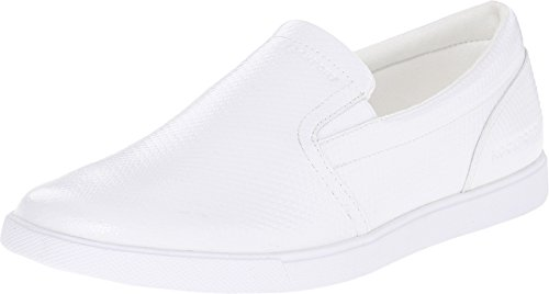 Rockport Men's Jet Streak Croydon Slip-On White Sneaker 10.5 M (D) (Rockport White Shoes)
