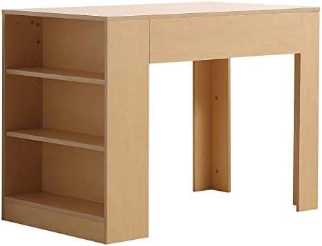 HOMCOM - Mesa de Escritorio Multifuncional con 3 estantes de ...