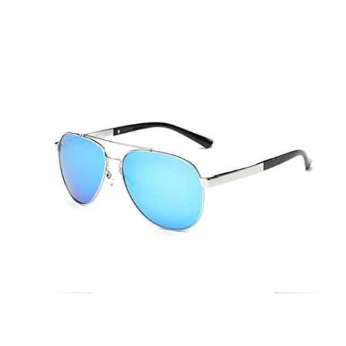 HUWQX Lunettes de soleil Lunettes de sport conduite Fancy Colorful lunettes polarisantes, 4#