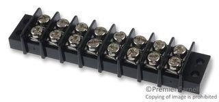 MULTICOMP MC24315 TERMINAL BLOCK 10 pieces 8 POSITION 22-12AWG BARRIER